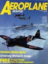 Aeroplane Monthly 1985 May Welkin,Ensign,Brooklands,Beardmore