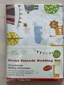 Kinder Valley 3 Piece Toddler Bedding Set (Circus Friends)