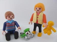 Playmobil Dollshouse/Escuela: Boy & Girl figuras de los niños con juguetes nuevos