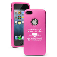 For iPhone 4 5 5c 6 6s Plus Aluminum Silicone Hard Case Cover Cute Skilled Nurse