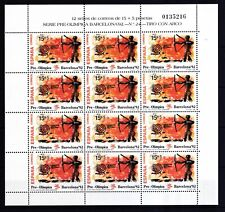 Spanien 1992 postfrisch Olympische Sommerspiele, Barcelona MiNr. 3030-3032