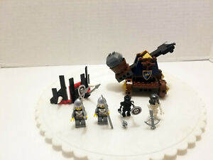 Lego 7091 Knights' Catapult Defense - 2007 - 100% Build Complete