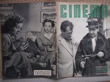 MIRACOLO A MILANO PAOLO STOPPA SUSAN HAYWARD LOIS WHELLER RIVISTA CINEMA 1950