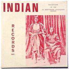 SEALED Rare Indian LP CRAZY BULL & FRIDAY RECORDS 16 Northern Arapahoe Songs