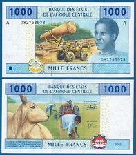 CENTRAL AFRICAN STATES / GABON 1000 Francs 2002 UNC P.407A