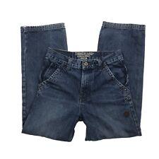Timberland Boys Size 12 Cargo Denim Blue Jeans