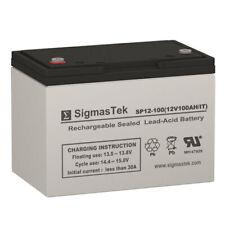 SigmasTek SP12-100 IT Battery (12V 100AH Terminal IT)
