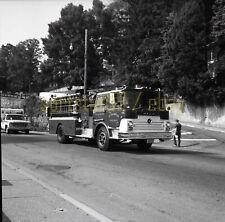 Mt Arlington NJ Fire Department - Mack Engine #185 - Vintage Truck Negative