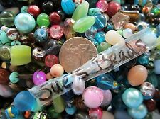 150 Mixed Assorted Bulk Glass Beads Good Quality jewelry crafts FAST US SHIP