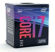 Intel i7-8700 3.2GHZ 12MB Cache LGA1151 Processor