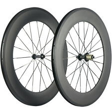 700C 88mm Clincher Bike Carbon Road Bicycle Wheels Carbon Wheelset High Quality