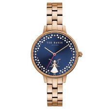 Ted Baker Kate Fairy Blue Dial Rose Gold Strap Ladies Watch TE50005002 £155