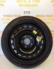 VAUXHALL ASTRA SPACE SAVER STEEL WHEEL & TYRE 115/70R16 4MM - TEMPORARY USE ONLY