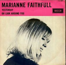 7inch MARIANNE FAITHFULL yesterday HOLLAND EX +PS