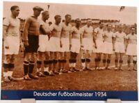 FC Schalke 04 Postkarte Deutscher Fußball Meister im 3.Reich PK201818 +