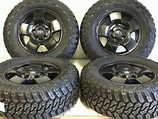 "TOYOTA TUNDRA 18"" OEM RIMS TIRES OFFROAD LOOK AND OEM DURABILITY SATIN BLK 5X150"