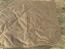 Pottery Barn Velvet Diamond Standard Sham Brownstone NEW