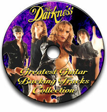 THE DARKNESS STYLE HARD ROCK GUITAR AUDIO BACKING TRACKS CD LIBRARY COLLECTION