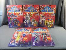 1994 Toybiz The Bots Master MOC Lot Greenbot Twig Humabot Bats Ziv Zalander