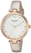 KATE SPADE HOLLAND WHITE DIAL SCALLOP METALLIC 34mm Woman's Watch KSW1402 New!!!