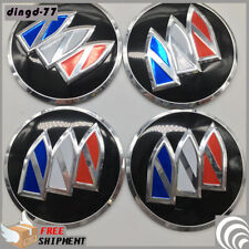 Pack of 4 56mm Car Wheel Center Hub Caps Emblem Sticker Accessories For Buick