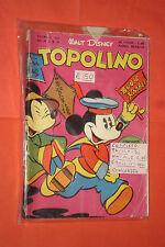 WALT DISNEY TOPOLINO libretto n° 36- originale mondadori-1950 completo gioco