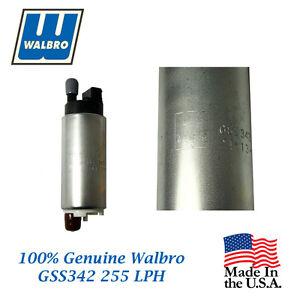 New Walbro High Performance 255 LPH Fuel Pump will fit Suzuki GSS342