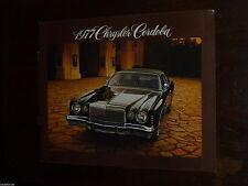 Chrysler - Cordoba - Catalogue 1977