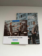 NOKIA 6100 MANUAL DE INSTRUCCIONES Y CDROM DRIVERS CD-ROM PC SOFTWARE.