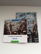 MANUAL DE INSTRUCCIONES Y CDROM DRIVERS NOKIA 6100. CD-ROM PC SOFTWARE.