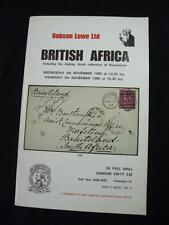 ROBSON LOWE AUCTION CATALOGUE 1980 THE 'AUBREY SCOTT' COLLECTION OF BASUTOLAND