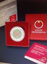 Österreich 25 Euro Niob Münze 2017 ....Der Mikrokosmos