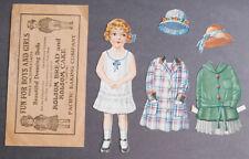 1940's Holsum Bread Dressing Dolls Dresses