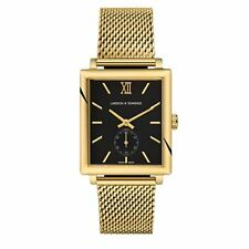 Larsson & Jennings Norse Mechanical Watch Classic Milanese Strap RRP £995 Gold