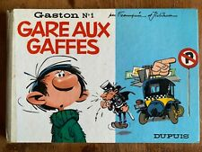 gaston lagaffe eo «Gare Aux gaffes» N*1