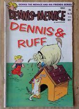 Dennis the Menace and His Friends 1977 Comic Book Series #35 Dennis & Ruff