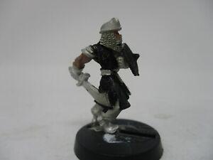 Ral Partha Grenadier Warrior w Scimitar Dungeons and Dragons Miniature #97