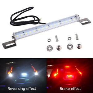 Durable 30 LED Car Aluminum Backup Reverse Brake Rear Light License Plate Lamp