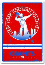 NY NEW YORK GIANTS RETRO LOGO REFRIGERATOR MAGNET CHRISTMAS GAG GIFT MAN CAVE
