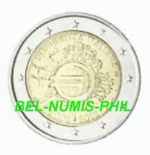 ITALIË 2012 - 2 Euro - 10 Jaar Euro Chartaal Geld - UNC