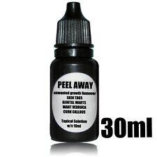 PEEL AWAY Genital Wart Remover Wart Verruca Mole Corn Removal Treatment 30ml