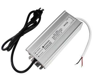 LightingWill Waterproof IP67 LED Power Supply Driver Transformer 100W 110V AC