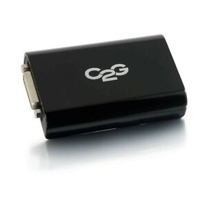 C2G Usb 3.0 To Dvi-D Video Adapter External Video Card Multi Monitor Desk/laptop