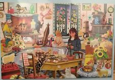 Staying at Grandma's by Rosiland Solomon 2000 Pcs Sealed Jigsaw Bits and Pieces