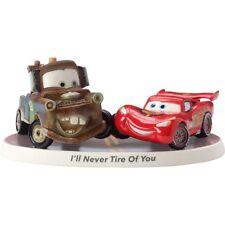 Disney Precious Moments 163701 Mater & McQueen Figurine New & Boxed