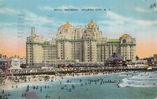 USA; Hotel Traymore, Atlandtic City NJ PPC, 1937 Local PMK
