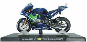 VALENTINO ROSSI Yamaha YZR-M1 2017 MotoGP Bike - Collectable Model - 1:18 Scale