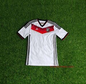GERMANY NATIONAL TEAM 2014 2015 HOME FOOTBALL SOCCER SHIRT JERSEY BOYS