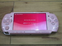 Sony PSP 3000 Console Blossom Pink Japan M975