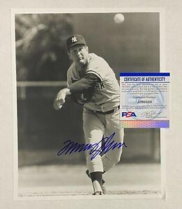 Tommy John Signed 8x10 Photo Autographed AUTO PSA/DNA COA NY Yankees